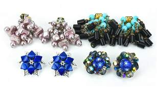 Collection Costume Jewelry Earrings