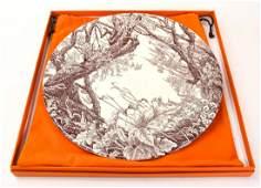 Hermes Les Maisons Enchantee Decorative Plate