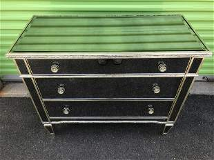 Hollywood Regency Mirrored Chest of Drawers