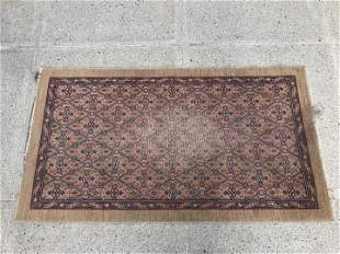 Antique Hand Knotted Persian Area Rug
