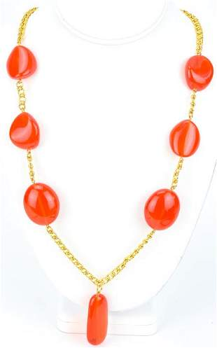 Vintage Kenneth Jay Lane Costume Jewelry Necklace