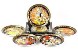 Rosenthal Aladdin & The Magic Lamp Plates by Bjorn