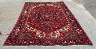 Persian Shiraz Hand Knotted Wool Rug / Carpet