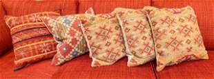 Collection Contemporary Kilim Style Throw Pillows