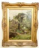 Framed Henry John Yeend King Oil Painting