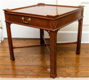 Baker Chinese Chippendale End / Side Table