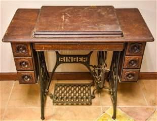 Antique Singer Hand Crank Sewing Machine G8292770