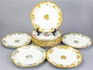 Antique Haviland Limoges Porcelain Dinner Plates