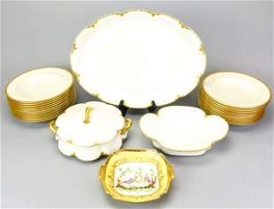 Collection Limoges Serving Pieces & Lenox Plates