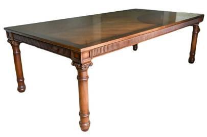 Custom $14,000 Italian Craftsman Dining Table