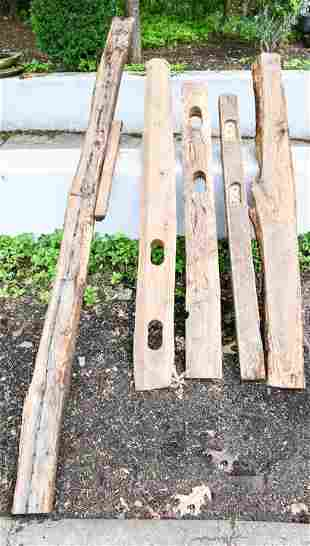 Wooden Architectural Salvage Beams / Mantel