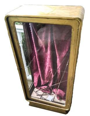 Antique Art Deco Curio Cabinet / Display Case