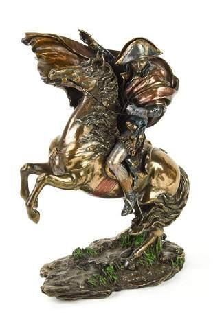Tabletop Napoleon Bronze Sculpture