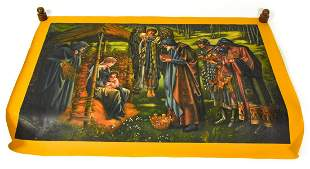 Edward Coley Burne Jones Star Bethlehem Painting
