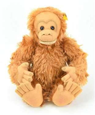 Vintage Jointed Mohair Steiff Gorilla Toy