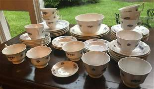 Collection of Antique 19th C Lusterware China