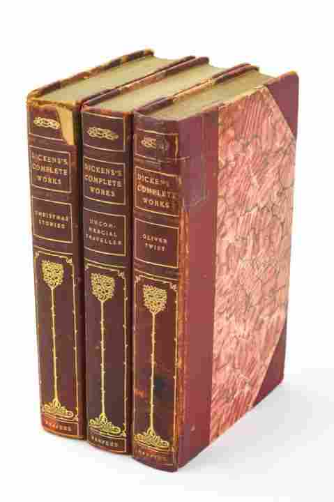 Three Antique 19th C Works by Charles Dickens