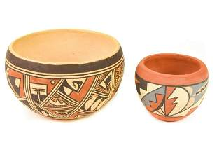 Vintage Signed Polacca Native American Pottery