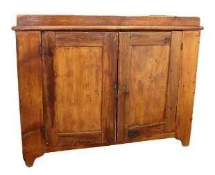 Antique Primitive Pine Dry Sink