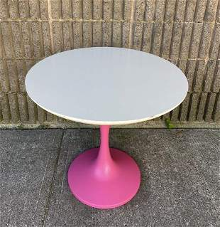 Mid Century Modern Knoll Tulip Style Side Table