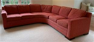 Contemporary Vanguard Custom Down Filled Sectional
