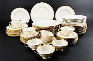 Lenox 'Tuxedo' Porcelain Dinner Service