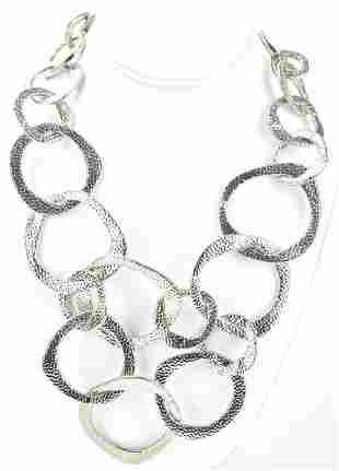 Costume Jewelry Modernist Calder Style Necklace