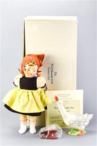 "Goebel Hummel ""Goose Girl"" Doll in Original Box"