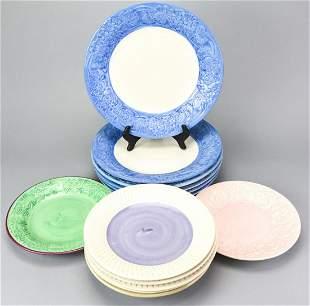 Collection Fioriware & Jardinware Ceramic Plates