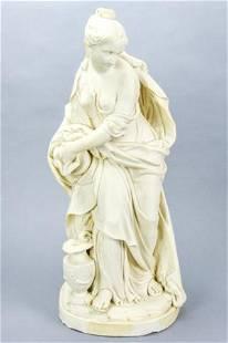 "Minton Parian Ware ""Temperance"" Figural Sculpture"
