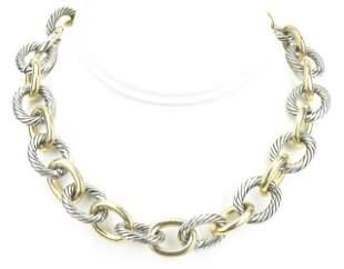 Vintage David Yurman Style Rolo Link Necklace