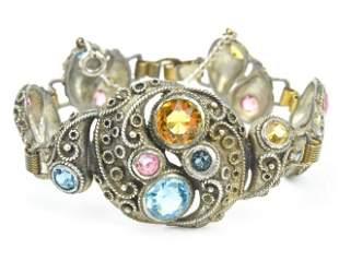 Vintage Costume Jewelry Austro Hungarian Bracelet