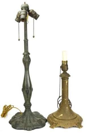 Miller Victorian & Arts & Crafts Bronze Lamps