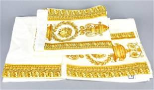 Gianni Versace Baroque Linen 3 Piece Towel Set