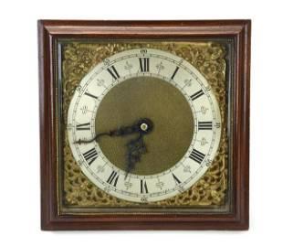 Antique Mantel Clock w Figural Ormolu Mounts
