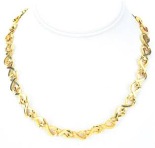 Tiffany & Co 18kt Gold Paloma Picasso Necklace