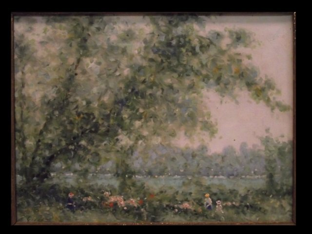 Andre Gisson Impressionist Oil on Canvas - 2