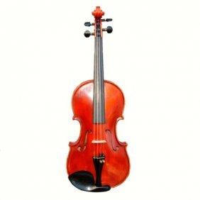 Red European Full-Size Violin- 20th Century
