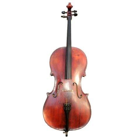 Vintage Juzek 3/4 Cello Made in Germany c. 1950