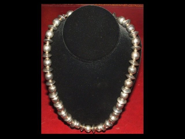 Midcentury Taxco Sterling Necklace