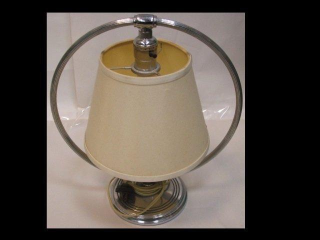 Midcentury Modernist Swivel Table Lamp