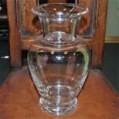 Vintage Tiffany & Co. Hand-Blown Crystal Vase