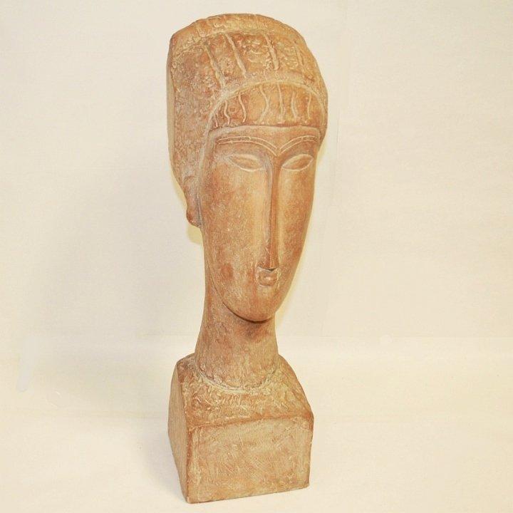 Austin Prod Mid-Century Sculpture- Bust of Woman
