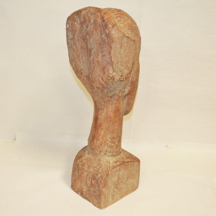 Austin Prod Mid-Century Sculpture- Bust of Woman - 2