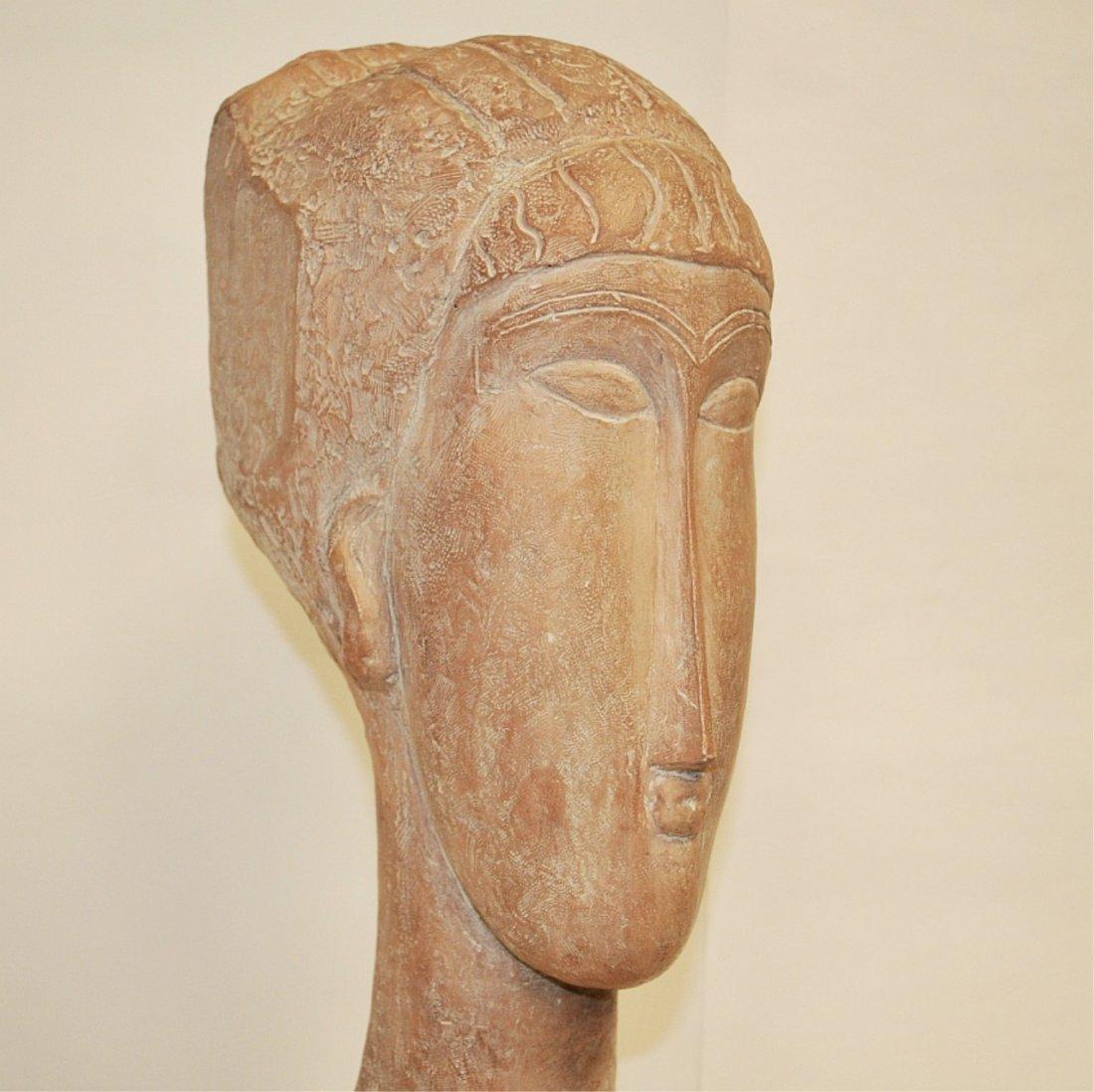 Austin Prod Mid-Century Sculpture- Bust of Woman - 4