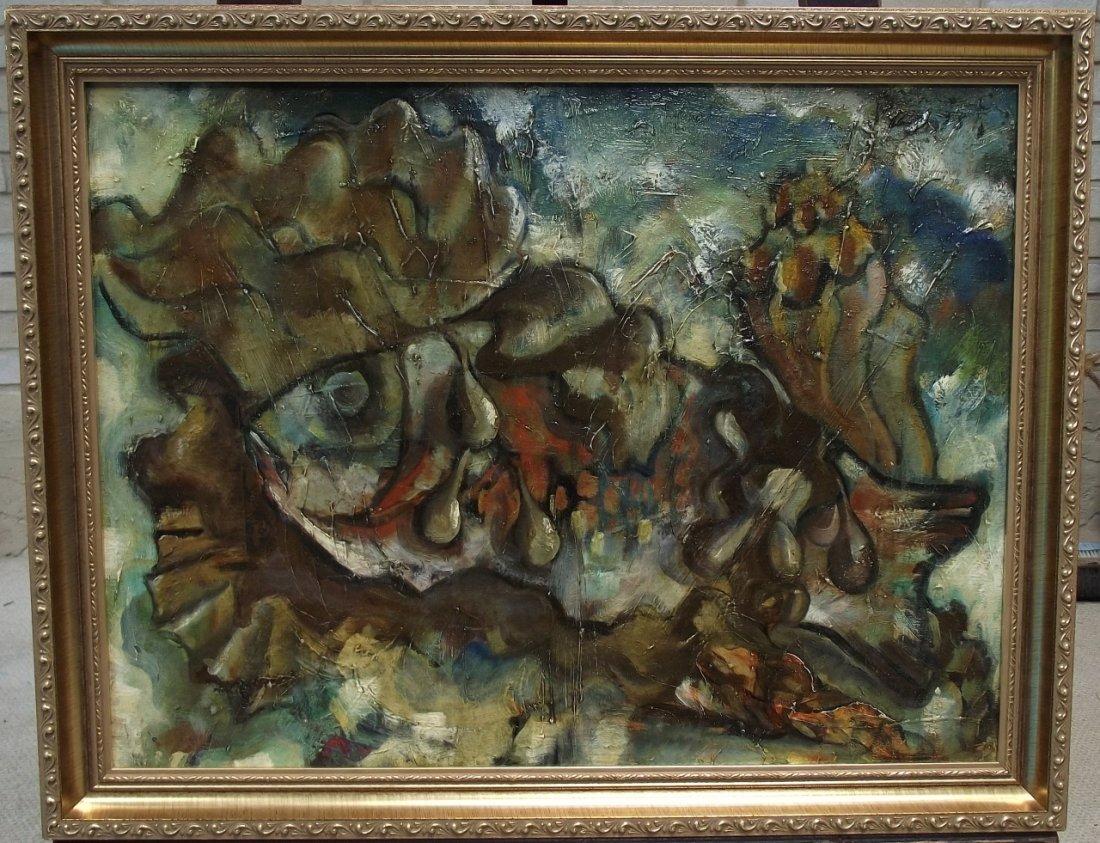 "Waldo Peirce (Pierce)- ""Dead Fish & Kelp""- O/C"