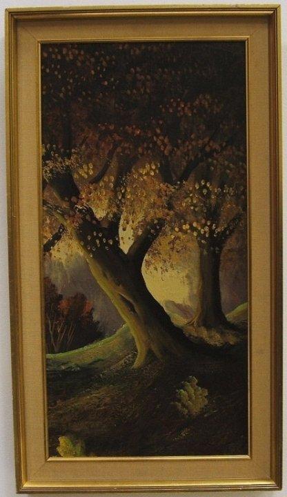 Impressionist Landscape- Oil on Canvas