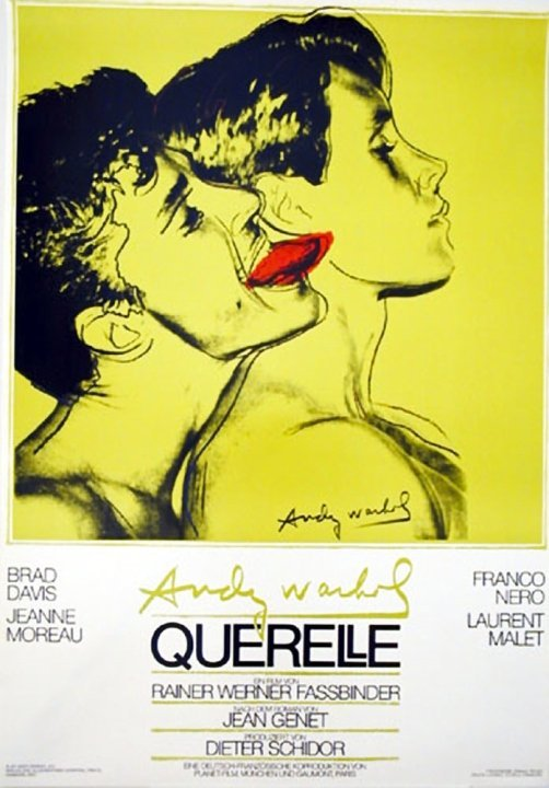 """Andy Warhol/""""Querelle""""/First Edition Movie Poster"""