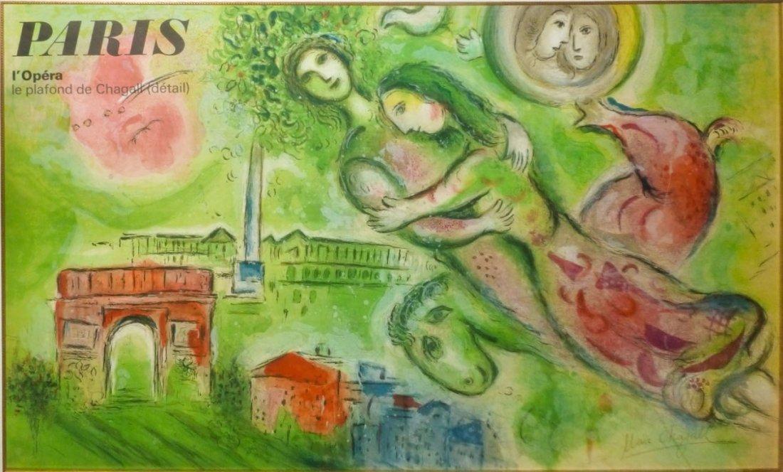 Chagall Paris L Opera Berlioz Signed # Meubles De Tele Berlioz