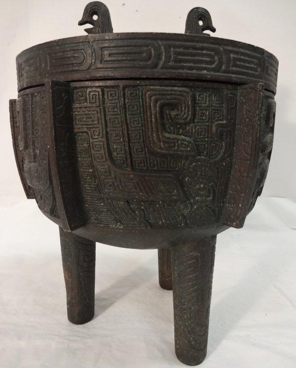 Decorative Asian Style Ice Bucket